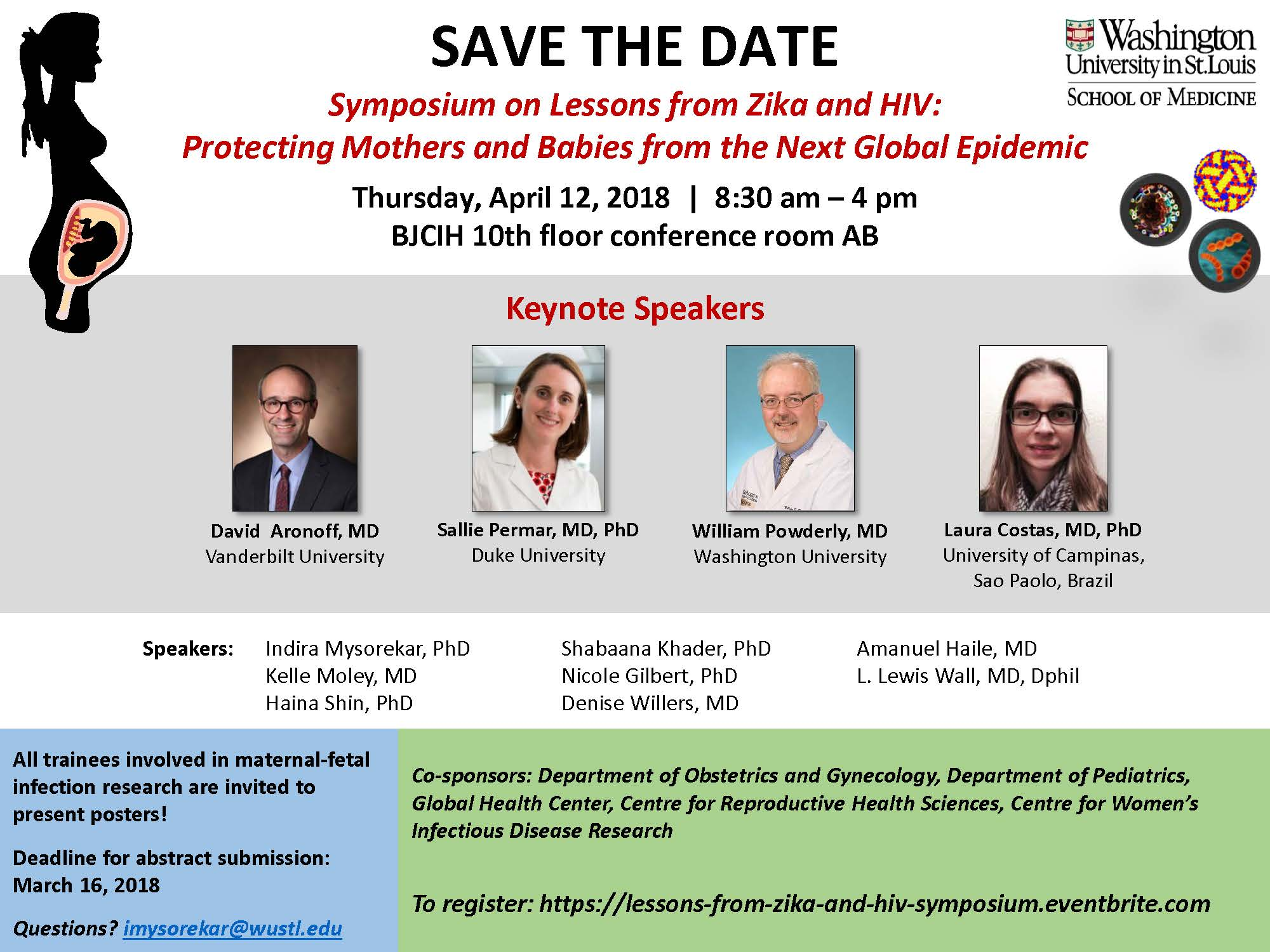 Zika Symposium Flyer